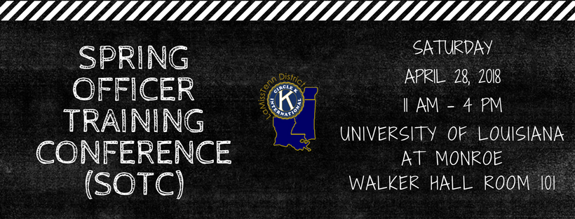 sPRING OFFICER TRAINING CONFERENCE (SOTC)